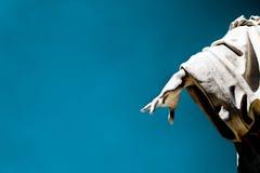 Statuen-Hand von einem Kirchhof Stockfotografie