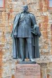 Statuen an Hohenzollern-Schloss Burg Hohenzollern stockfoto
