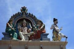 Statuen im hinduistischen Tempel Lizenzfreie Stockfotos