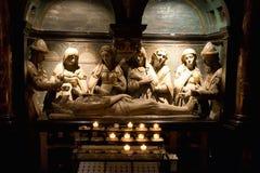 Statuen im Innenraum Kathedrale der Str.-Michael stockfotografie