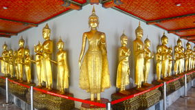Statuen im Tempel Wat Pho, Bangkok, Thailand Stockbild