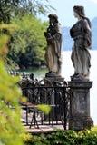 Statuen Italien Stockfoto