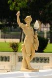 Statuen-Lampe stockfotografie