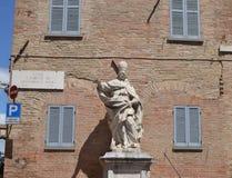 Statuen-Papst Clement des XI Stockbild