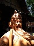 Statuen sättigen über Lizenzfreie Stockfotos