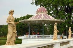 Statuen- und Thailand-Pavillon Stockbild