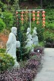 Statuen von alten chinesischen Berühmtheiten Lizenzfreie Stockfotografie