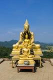 Statuen von Buddha bei Wat Phra Phutthachai Lizenzfreies Stockfoto