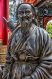 Statuen von Chinese Shaolin-Mönchen Stockfoto