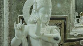Statuen von hindischen Göttern und von Göttin Handwerk und Künste von Indien MUR Lizenzfreies Stockbild