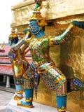 Statuen von rakshas Lizenzfreie Stockbilder