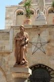 Statuen von Str. Jerome Stockfoto