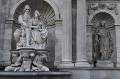 Statuen in Wien Lizenzfreie Stockfotos