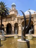 Statuenantilope, Sun City, Südafrika Lizenzfreie Stockfotos
