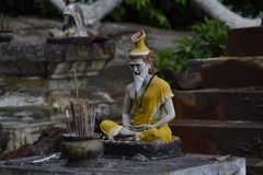 Statueneinsiedler stockfotos