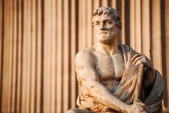 Statuenkunst Stockbild