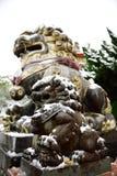 Statuenlöwe Lizenzfreies Stockbild
