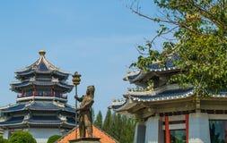 Statuenmilitär Stockbild