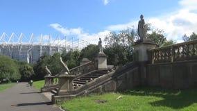 Statuenstadionspark 10s stock video