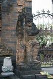 Statues à la forêt de Bali Indonésie photo stock