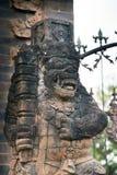 Statues à la forêt de Bali Indonésie photos libres de droits