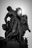 Statues à Rome Image stock