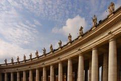 Statues à Vatican Images stock