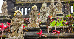 Statues. Old statues at the Mother Temple at Besakih in Bali, Indonesia Stock Photography