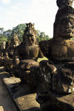 Statues Angkor, Cambodge Photo stock
