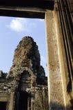 Statues- Angkor Wat ruins, Cambodia Royalty Free Stock Images