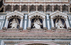Statues of the Apostles, Cathedral of Saint Mary of the Flower, Florence Royalty Free Stock Photography