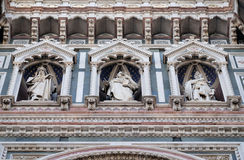 Statues of the Apostles, Cathedral of Saint Mary of the Flower, Florence Stock Image