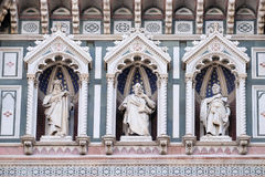 Statues of the Apostles, Cathedral of Saint Mary of the Flower, Florence Royalty Free Stock Photo