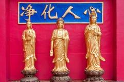 Statues aux dix-millièmes Buddhas Image libre de droits