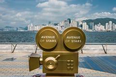 Statues Avenue of Stars Tsim Sha Tsui Kowloon Hong Kong Stock Image