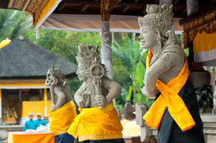 Statues of Balinese demon Royalty Free Stock Images