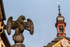 Statues of Bamberg Royalty Free Stock Photo