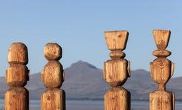 Statues in Bariloche Stock Photos