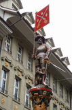 Statues in Bern Old Town Royalty Free Stock Photo
