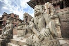 Life in Bhaktapur, Nepal Royalty Free Stock Photo