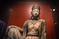 Statues bouddhistes, Hong Kong, Chine Photographie stock libre de droits