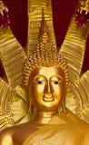 Statues of Buddha. A closeup golden Buddha statues, Buddhist religion Stock Image