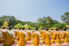 Statues of buddha Stock Image