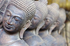 Statues of Buddha Royalty Free Stock Photo