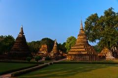 Statues of Buddha, Sukhothai Historical Park. Landmarks in Thai history, Sukhothai Historical Park, Travel Asia Stock Image