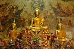 Statues of Buddha in  Thailand Stock Photos