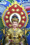 Statues of Buddhist deities Chinese art form. Royalty Free Stock Photo