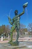 Statues célèbres chez Millesgarden du sculpteur Carl Milles Photos stock