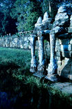 Statues- Cambodia Stock Photo