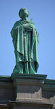 Statues on the Cathedral-Basilica of Mary, Queen of the World Royalty Free Stock Images